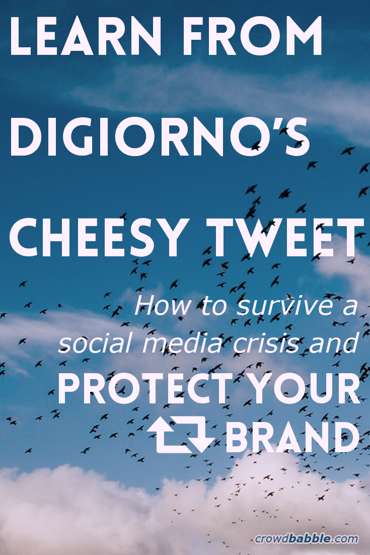 Learn from DiGiornos cheesy tweet