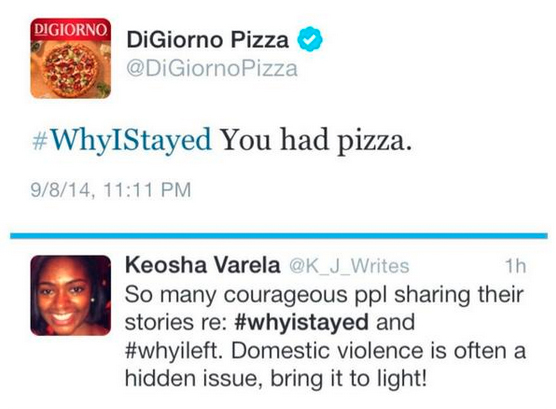 DiGiorno's Cheesy Tweet