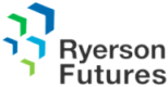 Ryerson futures logo, from the best social media analytics tool Crowdbabble. Google analytics social media.