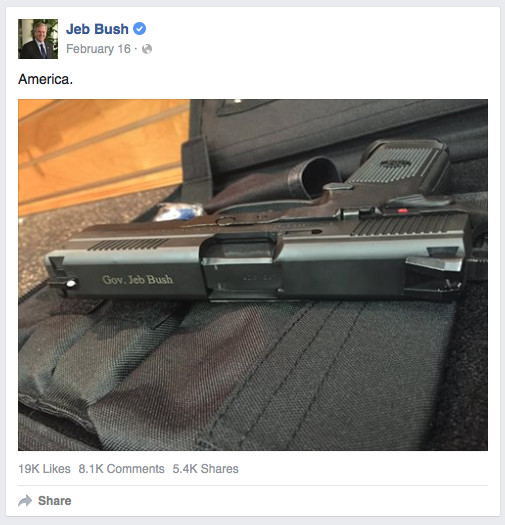 crowdbabble_google-analytics-social-media_election-2016_jebbush-facebook-gun.png