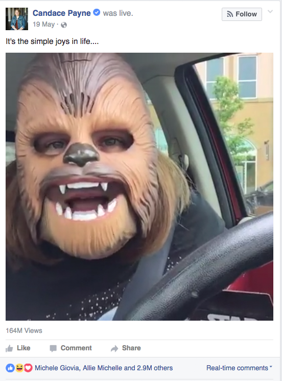 Social media trends 2017 chewbacca mom
