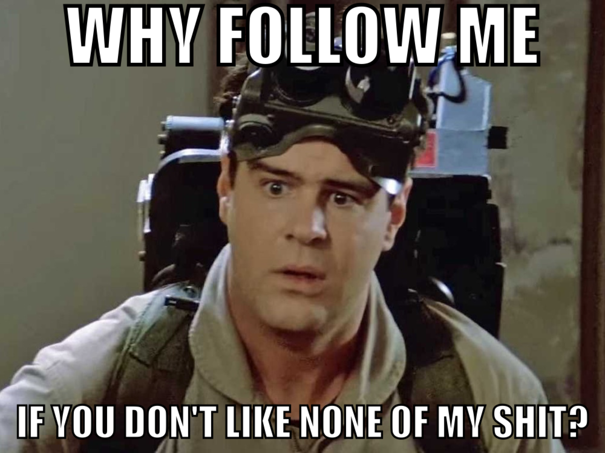 Instagram Ghost Followers Dan Akroyd