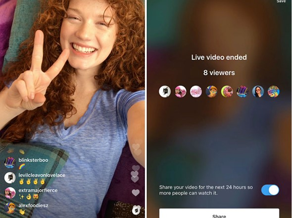 Instagram Algorithm - Live Stories